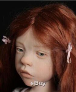 Ooak Artiste Doll Main Sculptée Par L'artiste Française Laurence Ruet Rarement Disponible