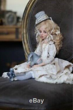 Ooak Artiste Doll Par Helena Oplakanska Melanie 2018