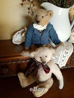 Ooak Artiste Fait Mohair 11.5 Teddy Bear Par Alla Zubkova Charles Gray