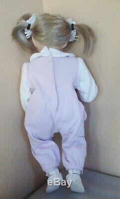 Ooak Artiste Made Miranda Porcelain Doll Dianna Effner Studio Mold Expressions