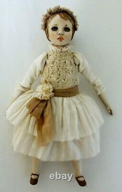 Ooak Artiste Mini Milie Doll