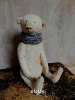 Ooak Artiste Teddy Bear, Ours En Peluche Fait Main, Jouet De Collection, Ours En Peluche