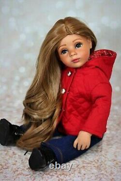 Ooak Custom Gotz Doll Artist Hand Painted Doll Blue Eyes Freckles Ooak Custom Gotz Doll Artist Painted Doll Blue Eyes Freckles Ooak Custom Gotz Doll Artist Painted Doll Blue Eyes Freckles Ooak Custom