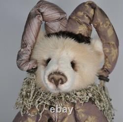 Ooak Lori Simon Furbearsake Jester Mohair, Mink & Seal Fur