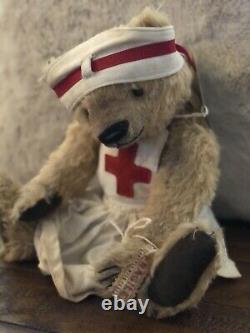 Ooak Mohair Un Artiste Du Genre Teddy Bears Edition Limitée Beardsley Bears