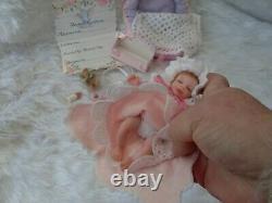 Ooak Sculpter Poupée / Fait À La Main / Artiste Fait Poupée Polymère Argile Renaître Bébé 5 / Cadeau