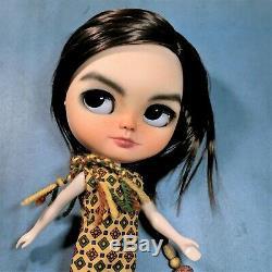 Ooak Sur Mesure Repeint Icy Doll Par Ses Artiste Bjork Unique Fille Changement 4 Eye Blythe