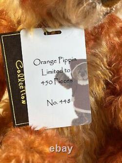 Orange Mohair Pippin Par Isabelle Lee 14 Pouces U. S. Très Rares Et Difficiles À Trouver