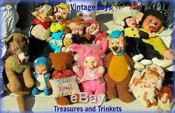 Ours En Peluche Vintage Mohair Gemstone Collier 12 Artiste Tag Mariel Making Memories