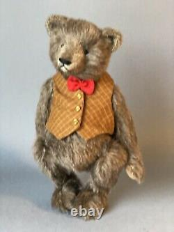 Ours Rhymes Artiste Ours En Peluche Barry, Ooak Bear