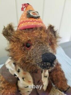 Pat Murphy Artist 14 Mohair Bear Libbie Le # 7/7, Halloween Tenue, Nouveauté Avec Tags