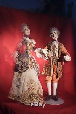 Peter Wolf Artiste Allemand Choix De La Cour Figural Art Sculptures Art Poupées Ooak