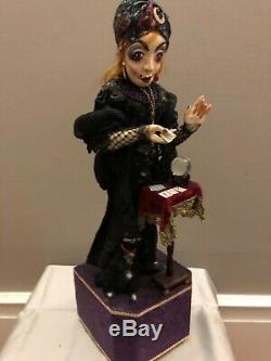 Peter Wolf Artiste Allemand Fortune Teller Automaton Figural Art Sculpture Ooak