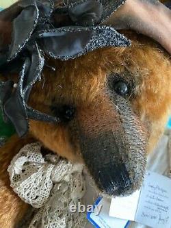Portobello Bear Co Lady Philippa 1/1 Né 2001 Teddy Bear Par Amy Goodrich