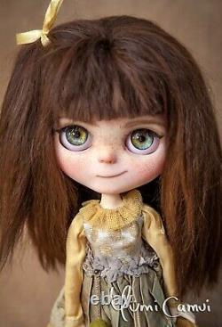 Poupée Blythe Personnalisée Ooak Poupée D'artiste De Yumi Camui