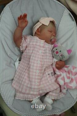 Poupée De + Reborn Realborn Bébé Bâillement Leilani Coa Artiste Marie Sunbeambabies