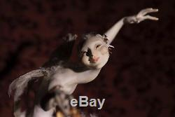 Puck Par Forest Rogers Niada Artiste Ooak Fantasy Figure Exquis Moulage
