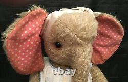 Rare 21 Artiste Heidi Steiner Mohair Elephant Steiner Bears Elsa