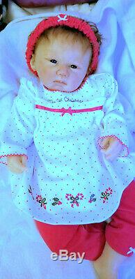 Rare Artiste Proof Doll Solide Silicone Par Michelle Fagan Signe De Noël Ooak