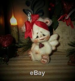 Ratties 4 Patti Ours Cupidon Ange Cub Valentine Ooak Doll Cadeau Artiste Sikes