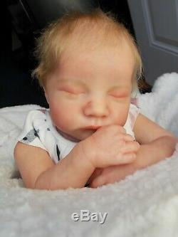Réaliste, Artistique Reborn Baby Girl Doll Nouveau-né Levi Par Brown 1er Ed Bonnie