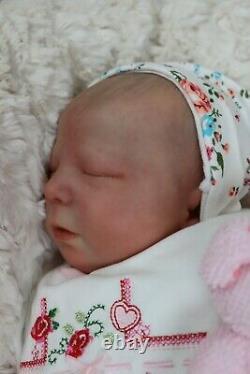 Reborn 6lb Realborn Baby Girl Alma Coa Artiste Marie Sunbeambabies Pvhg