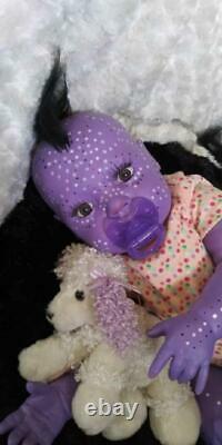 Reborn Artiste Alternatif Doll Alien Avatar Mythical Fantasy Baby