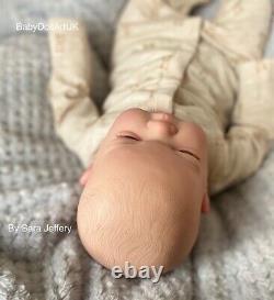 Reborn Baby Boy Doll Theodore, 18 Nouveau-nés Par Uk Artist Babydollartuk Sara