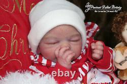Reborn Baby Boy Gideon Par Down Mcleod/mimadolls Artistsnewbornl E. Dollsiiora