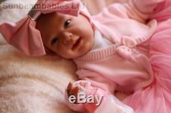 Reborn Baby Doll Ginger 20 Handpainted Par L'artiste De Marie À 9yrs Sunbeambabies