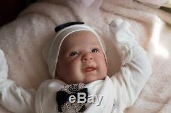 Reborn Baby Doll Ginger Belle Boite Ouverture De L'artiste 9yrs Marie / Sunbeambabies