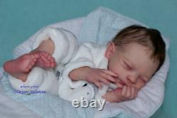 Reborn Baby Doll Liam (liam Par Joanna Kazmierczak)/artiste Tatyana Melnikova