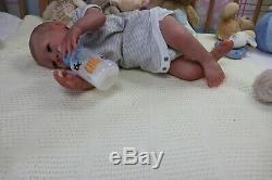 Reborn Baby Doll Paisley D Pratt Belle Ouverture Box Artiste De Marie 9yrs Ghsp