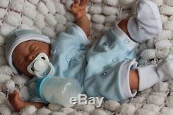Reborn Baby Doll Preemie Précoce Teagan Artiste De Marie 9yrs (varie Outfit)
