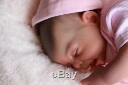 Reborn Baby Doll Puddin Maintenant Pavot Handpainted Par L'artiste Sunbeambabies Ghsp