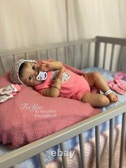 Reborn Baby Girl Doll Feiyen, 22 Asian Baby De L'artiste Britannique Sara Jeffery