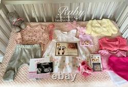 Reborn Baby Girl Doll Ruby (realborn With Coa) De L'artiste Britannique Sara Jeffery