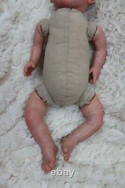 Reborn Baby Heavy Doll Darcy Child Safe, Full Limbs, Artiste 9yrs Sunbeambabies