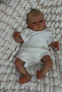 Reborn Bébé Doll Preemie 16 Par Précoce Artiste De Marie 9yrs Sunbeambies