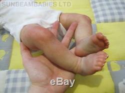 Reborn Bountiful Bébé Fille Rose / Artiste Dan Sunbeambabies Avec Sac Cadeau