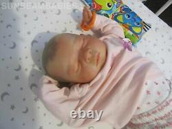 Reborn Doll Baby 20 Was Gena Bountiful B Par Artist 7yrs Dan Sunbeambabies Ghsp