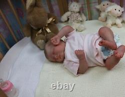 Reborn Realborn Bébé Était De Phineas Coa Artiste Marie Sunbeambabies Pvhg