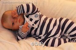 Reborn Toddler Ooak Doll 24 Custom Made 11 Lbs Baby Joseph, Artiste De 9 Ans Ghsp