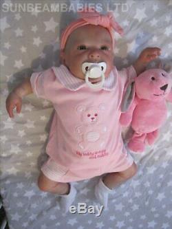 Réincarné Baby Doll Ginger 20 Baby By Artiste De 6 Ans Dan Sunbeambabies Pvhg