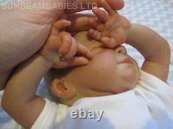 Réincarné Baby Girl Sky Doll Floppy Lifelike / Par Artiste 6 Ans Dan / Sunbeambabies