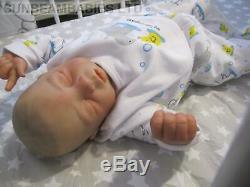 Réincarné Bébé Bountiful Garçon Était Très Confortable Par L'artiste Dan À Sunbeambabies Pvhg