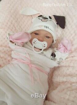 Réincarné Bébé Fille Poupée, Nouveau-né 18 Awake Bébé Roxie 4lbs, Artiste Uk