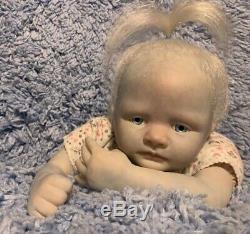 Réincarné Fantaisie Ice Bébé Savannah Kit De Bb 19 Doll Artiste Ooak Ginger Lynn