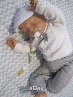 Réincarné Tout-petit Bountiful Baby Boy Ross Par L'artiste Dan À Sunbeambabies Pvhg