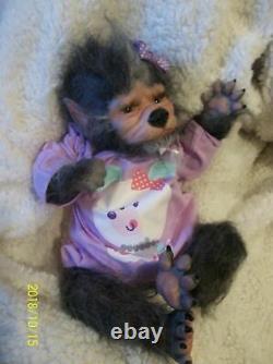 Renaître Sur Mesure Sur Commande Lucien Hybrid Ont Été Wolf Artist Baby Doll Chiot